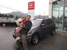 Congratulations Paul. Looks like you and your lovely daughter will be enjoying your new Outlander a lot.