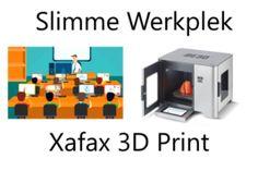 Xafax introduceert 2 nieuwe innovatieve producten: de Slimme Werkplek en Xafax 3D Print !