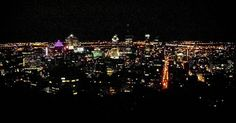 It doesn't even matter if I upgrade, no sophisticated equipment can duplicate this view that the eyes can't do better. · #montreal #montroyal #night #citylights #lights #buildings #panorama #samsungs4 ·