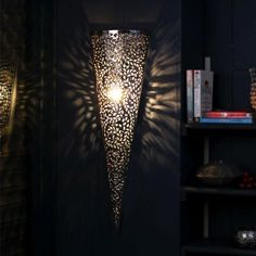 FSB Morrocan Wall Lamp Conical - FabFurnish.com