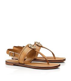 The Tory Burch 'Selma' flat slingback sandals are a everyday warm weather staple $175, get it here: http://rstyle.me/~x0Vh