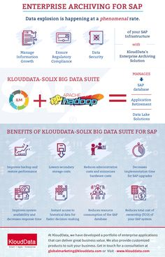 With businesses drowning in data, enterprise data management can be a great challenge for companies. This calls for smarter and cost-effective online data storage infrastructure. Thus, Enterprise Archiving is becoming a critical business need today. With KloudData-Solix Enterprise Archiving Suite you can manage your data to optimize storage, efficiency and operating costs.