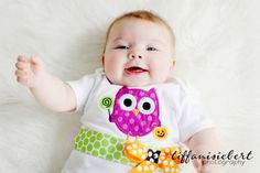 Halloween Bodysuit Owl by whimsytots, $31.50