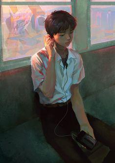 Shinji by liasailor.deviantart.com on @DeviantArt