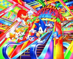 90's Sonic artists really knew how to advertise