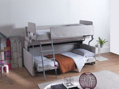 Palazzo Transforming bunk bed/couch from Resource Furniture