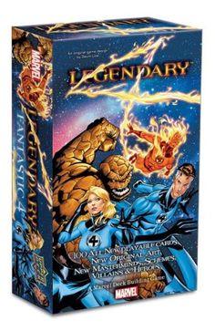 Legendary: A Marvel Deck Building Game: Fantastic Four Expansion - List price…