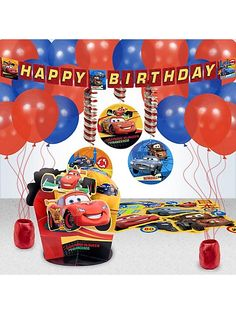 Disney Cars Party Decoration Kit