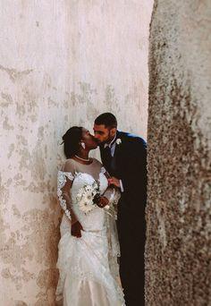 133 best davids bridal uk wedding ideas images on pinterest davids bridal bride melissa in a long sleeve illusion neck galina signature wedding dress for her junglespirit Image collections
