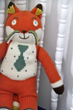Socks the Fox. Oh Natalie Fox you need one of these!!!