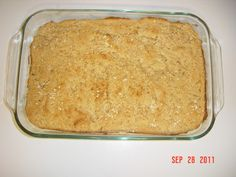 ' Miracle' Honey Oatmeal Bread (Gluten Free)