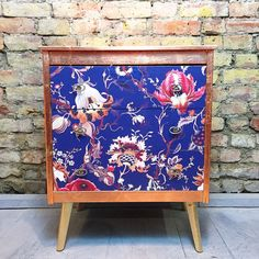 Upcycled vintage retro chest of drawers in by MuckNBrassLondon
