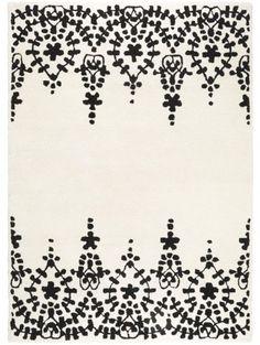 Wollteppich Matrix Guild Weiß 200x300 cm