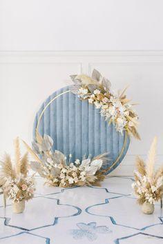 Wedding Backdrop Design, Wedding Stage Decorations, Backdrop Decorations, Balloon Decorations, Blue Wedding, Diy Wedding, Wedding Flowers, Dream Wedding, Event Planning Design
