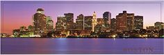 Enhance your home walls with this amazing piece of art which depicts the view of Boston city skyline art print poster. Most of the cities look dramatic at night especially Boston. This Poster captures the beauty of Boston after dark, especially the way the lights reflect into the water. You will surely love this poster at every moment you look at it or you may experience the beauty of nightscapes, calm atmosphere and pollution free place. This poster will help to bring charm into your place.