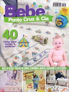 Artesanato - Bordados : BEBE PONTO CRUZ & CIA 105 - Editora Minuano