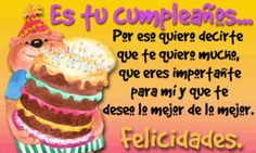 Get More Customers With Easy Online Advertising Happy Birthday Posters, Happy Birthday Quotes, Birthday Wishes, Happy B Day, Birthdays, Desserts, Ideas Cumpleaños, Congratulations, Online Advertising