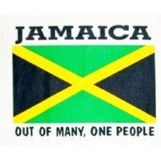 Jamaica Flag Kitchen Apron