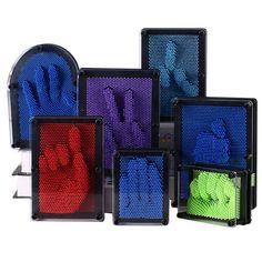 Genuine Plastics 3D Acupunture Needle Carving Coning Fingerprint Needle Painting Birthday Gift