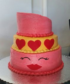 Lippy Lips Cake Shopkins