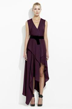 BCBG Max Azria - Silk georgette dress