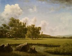 """Summer Valley"" by Eric Schwerdtfeger Oil ~ 16 x 20"