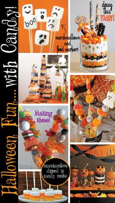 Pagoda Press: Halloween Candy Fun..no baking required! Cute