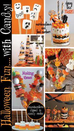 Pagoda Press: Halloween Candy Fun..no baking required! Cute