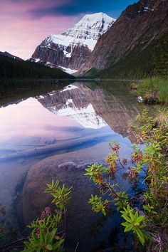 Mt Edith Cavell, Jasper National Park_ Canada