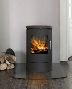 Morso 6140 Wood Burning Stove - I like the Morso stoves Wood Burner Stove, Wood Burner Fireplace, Art Deco Fireplace, Pellet Stove, Log Burner, Brick Fireplace, Fireplace Design, Gas Stove, Fireplace Ideas