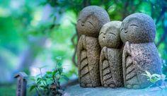 Las estatuas Jizô, tesoros de la tierra y guardianas de los viajeros y los niños