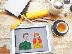 iPad pro + apple Pencil - blog Andsmilestudio.com