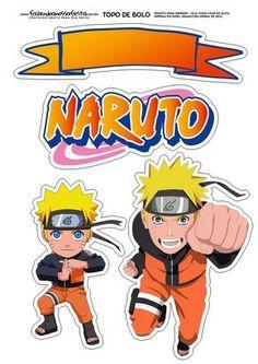 Uau! Veja o que temos para Topo de Bolo Naruto