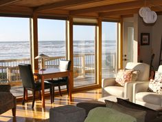 Cannon Beach Vacation Rental - VRBO 397883 - 5 BR Northern Coast House in OR, The Pelican at Arch Cape - Beachfront, Hot Tub with Views of Castle Rock