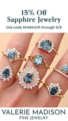 Sapphire Jewelry, Non Diamond Engagement Rings, Engagement Ring Sizes, Wedding Band Styles, Wedding Bands, Conflict Free Diamonds, Diamond Bands, Fine Jewelry