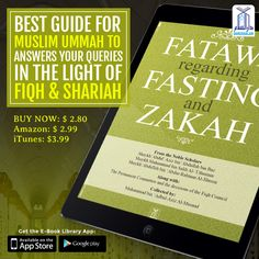 Best guide for Muslim Ummah to Answers ypour Queries in the Light of Fiqh & Shariah. https://darussalampublishers.com/e-books/islamic-law/fatawa-regarding-fasting-and-zakah #Hajj #Hajj2016 #EidulAdha