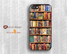 IPhone 5 case IPhone 4 case Book s soft rubber case by Atwoodting, $11.99