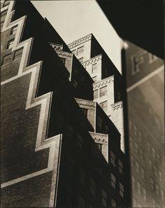 Sherril Schell Buildings on West 35th Street, c. 1930-32. Gelatin silver print