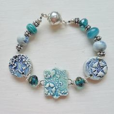 As seen in Stringing Magazine Dec 2012 Sea Shell by SlinginMud, $16.50