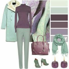 November Pastels, shades of my favorite colours Colour Combinations Fashion, Color Combinations For Clothes, Fashion Colours, Color Combos, Look Fashion, Fashion Outfits, Womens Fashion, Fashion Design, Moda Disney