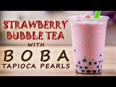 Learn how to make a Strawberry Bubble Tea drink with Bubble Tea Supply Strawberry Flavor Powder and Neptune Ice Boba Tapioca Pearls. This is the standard recipe for our flavor powder however you can easily substitute in milk, almond milk, etc for the creamer and water. You can also change out the sweetener to match the flavor preferences of your customers or friends and family. Visit our website for the full recipe.