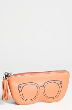Rebecca Minkoff Leather Sunglasses Case available at #Nordstrom