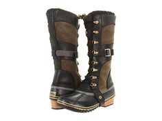 $220.00 Sorel Conquest™ Carly Twill - Zappos.com Free Shipping BOTH Ways---Poor reviews
