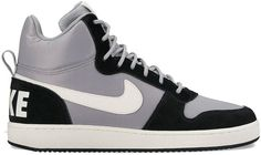 These men s Nike Court Borough Mid Premium shoes set you up with a classic  basketball look for the street. 549bb53ac