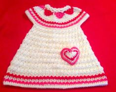 Crochet Pattern Baby Dress & Headband Shelly PDF 12-109