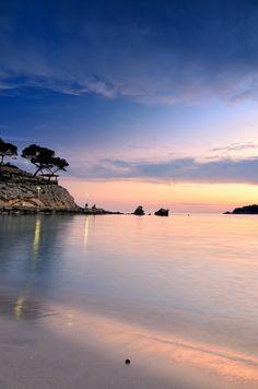 Romantische Abendstimmung in Mallorca.Mallorca Ausflüge in zauberhafte Umgebung.