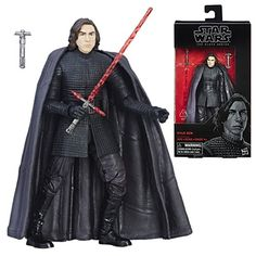 Star Wars The Black Series Kylo Ren The Last Jedi Figure - Hasbro - Star Wars - Action Figures at Entertainment Earth