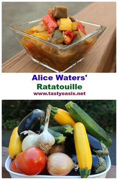 Alice Water's Ratatouille is a Genius Recipe, and there's no reason t...