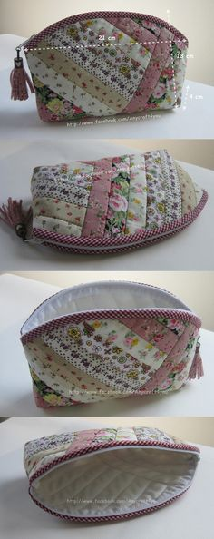 all purpose bag saya suka saya suka Patchwork Bags, Quilted Bag, Bag Patterns To Sew, Sewing Patterns, Fabric Bags, Little Bag, Zipper Bags, Small Bags, Handmade Bags