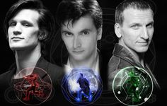 Eleventh Doctor, Tenth Doctor, Ninth Doctor
